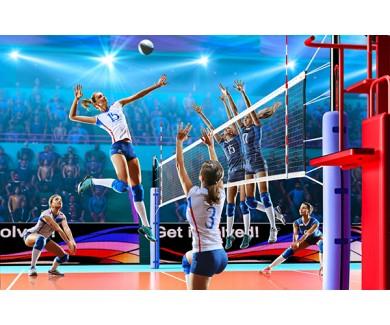 Фотообои Женская сборная по волейболу