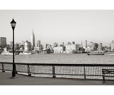 Фотообои Вид на Нью-Йорк с набережной Хобокена