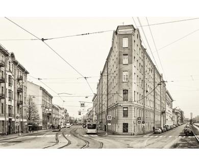 Фотообои Перекресток Садовой и Фонтанки, Санкт-Петербург