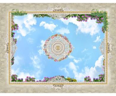 Фотообои Декор на потолок