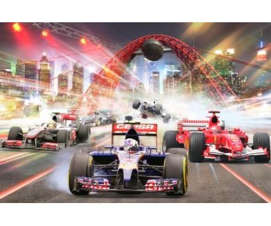 Фотообои Болиды Формулы 1