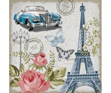 Фотообои Винтажная открытка