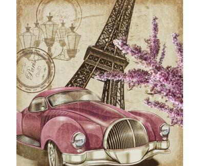 Фотообои Ретро авто, Париж