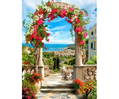 Фотообои Арка в цветах
