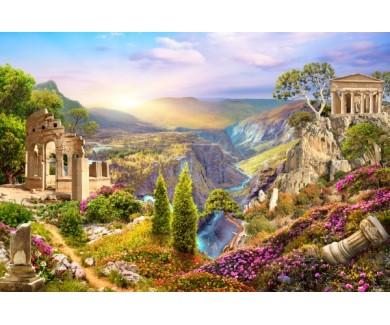 Фотообои Античность и горы