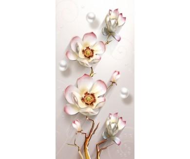 Фотообои Романтический белый цветок