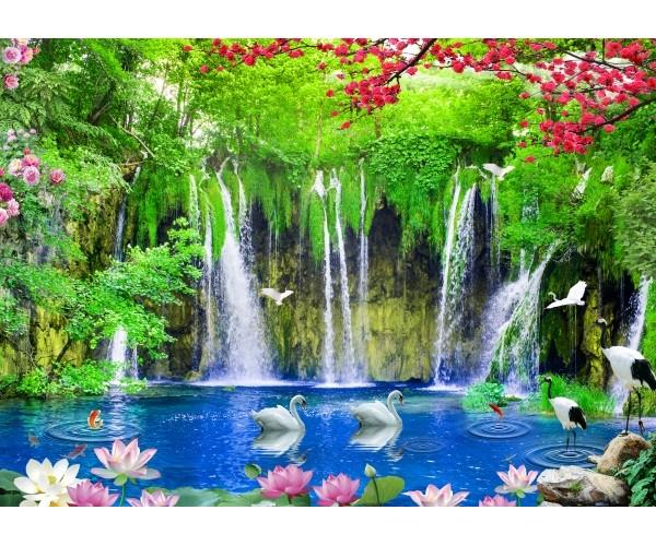 Фотообои Водопад, идиллия