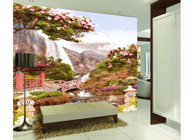 Фотообои Водопад в Японии