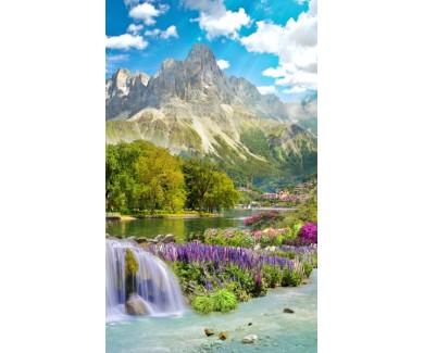 Фотообои Весна в горах