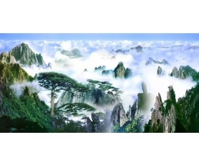 Фотообои Вид на горы с высоты