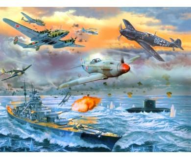 Фотообои Морское сражение