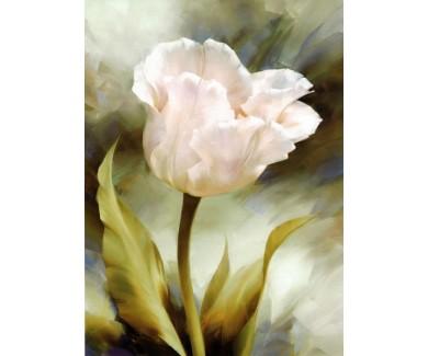 Фотообои Цветок, живопись