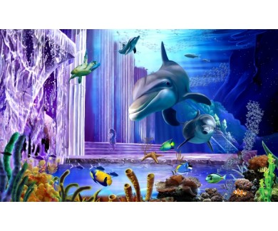 Фотообои 3D океан