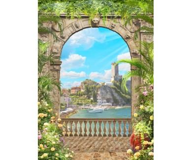 Фотообои Заросшая арка