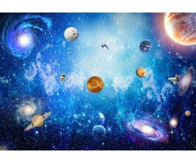 Фотообои Космическая панорама