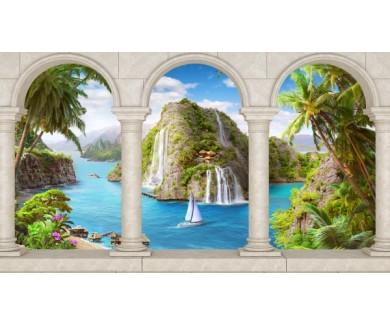 Фотообои Панорама арки