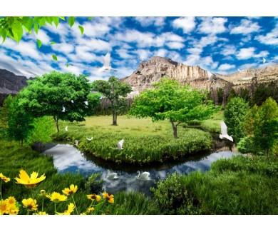 Фотообои Панорама пейзажа