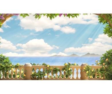 Фотообои Панорама с видом на море
