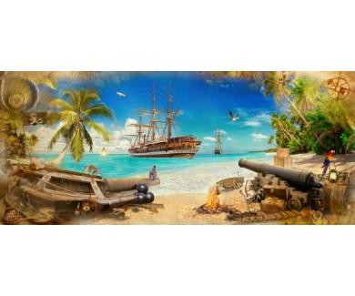 Фотообои Пиратская бухта
