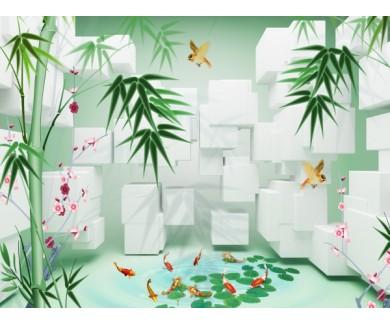 Фотообои Джунгли 3D