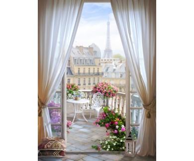 Фотообои Красивый вид из комнаты
