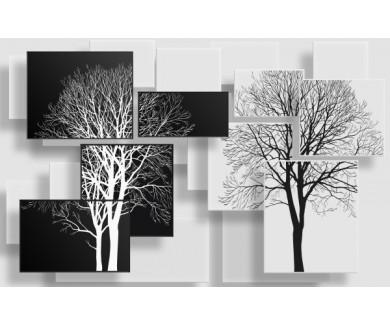 Фотообои Деревья в стиле модерн