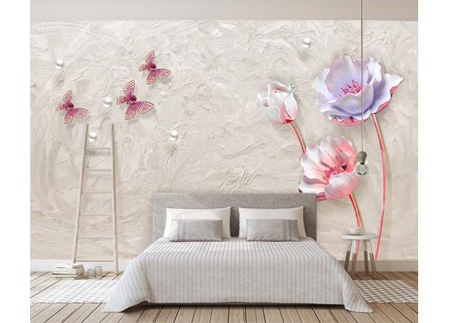 Фотообои Романтические цветы
