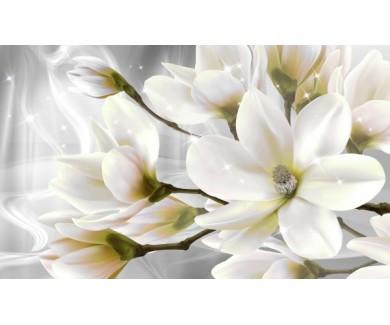 Фотообои Цветы с бликами