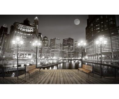 Фотообои Вечерний город