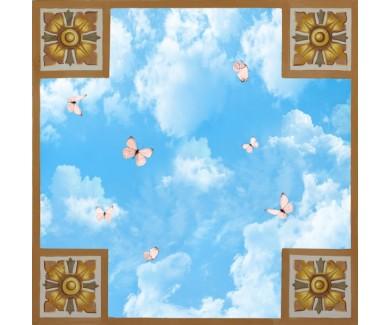 Фотообои Бабочки в небе