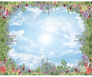Фотообои Декор из цветов