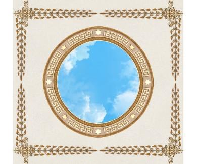 Фотообои Золотой круг и небо