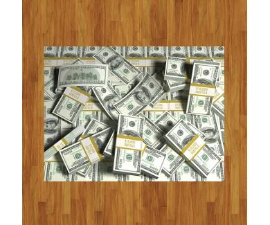 Наклейка на пол Деньги