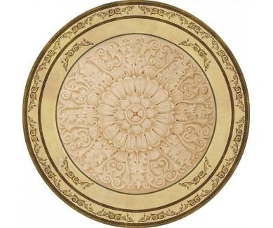 Наклейка на потолок Золотой круг