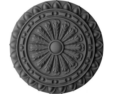 Наклейка на потолок Чёрный круг