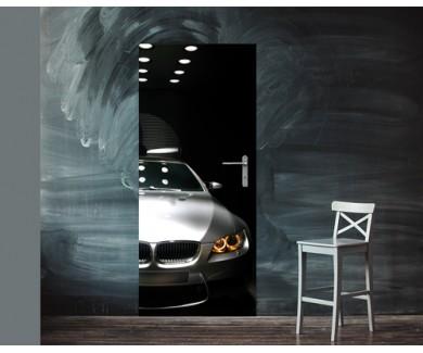 Наклейка на дверь BMW M3