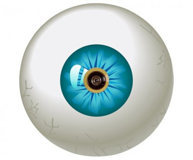Наклейка на глазок Глаз