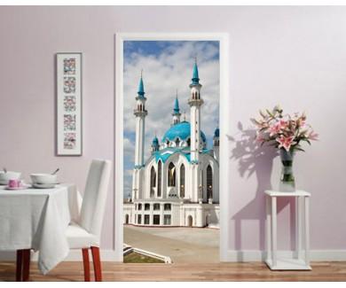 Наклейка на дверь Мечеть в Казанском Кремле