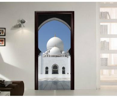 Наклейка на дверь Мечеть в Объединённых Арабских Эмиратах
