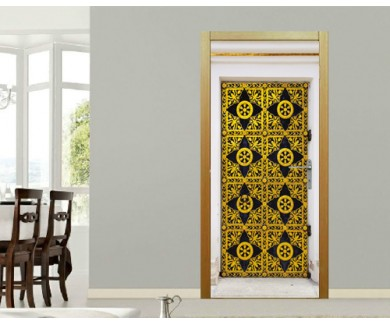 Наклейка на дверь Дверь в собор Успения в Киево-Печерской Лавре