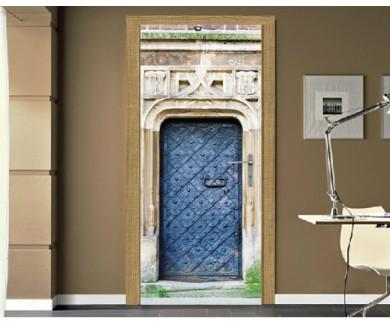 Наклейка на дверь Дверь средневековой ратуши в Кракове, Польша