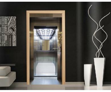 Наклейка на дверь Открытый лифт