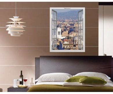 Наклейка на стену Панорамный вид на Рим