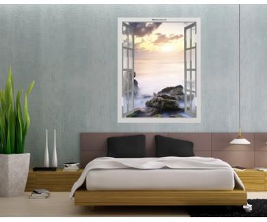 Наклейка на стену Красивый морской пейзаж