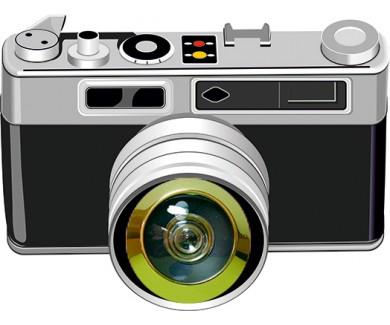 Наклейка на глазок Фотоаппарат