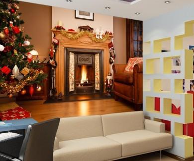 Фотообои Рождественская комната
