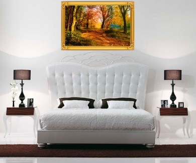 Наклейка на стену Красивый пейзаж, отображающий все краски приро
