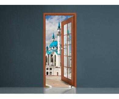 Наклейка на стену Мечеть в Казанском Кремле