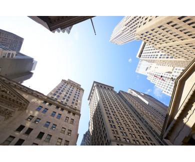 Фотообои Высотные здания в финансовом районе Уолл-Стрит