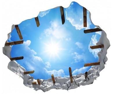 Наклейка на потолок Божественное небо